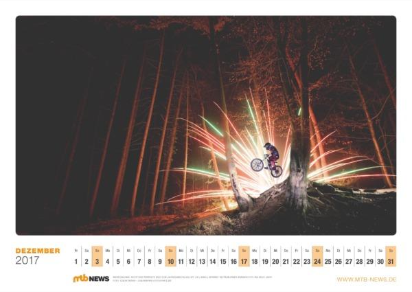 Mountainbike Kalender 2017
