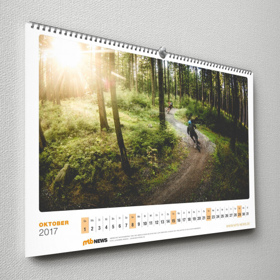 Mountainbike Kalender 2017