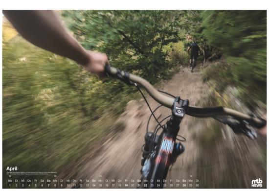 mtb wandkalender 2019 warp speed im vinschgau gopro foto